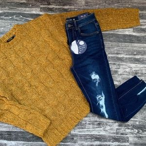 Doe & Rae Sweater & Blue Age Jeans Outfit